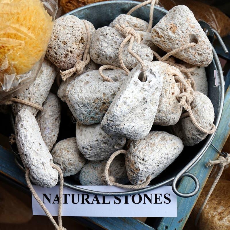 形状的浮岩,希腊 免版税图库摄影