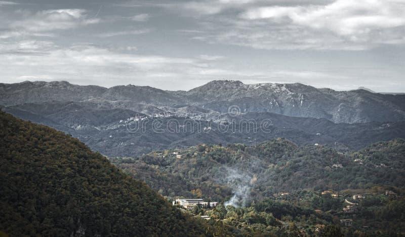 形象的托斯卡纳风景 免版税库存图片