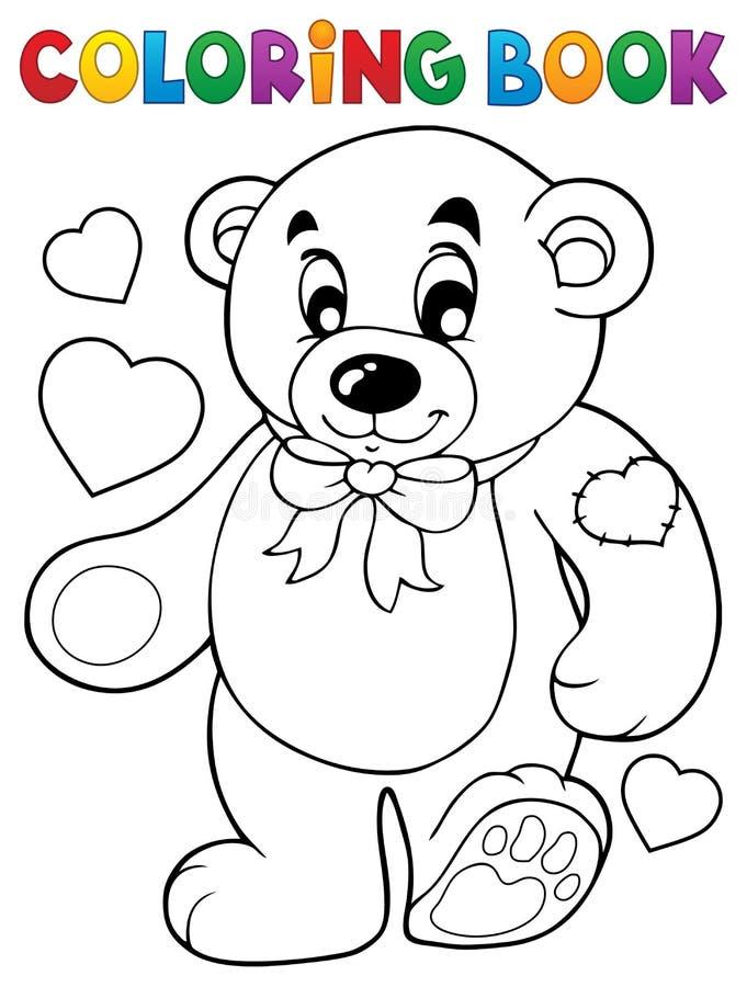 彩图玩具熊题材1 向量例证