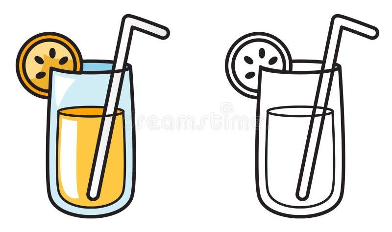彩图的五颜六色和黑白汁液 皇族释放例证