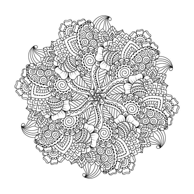彩图的圆的元素 向量例证