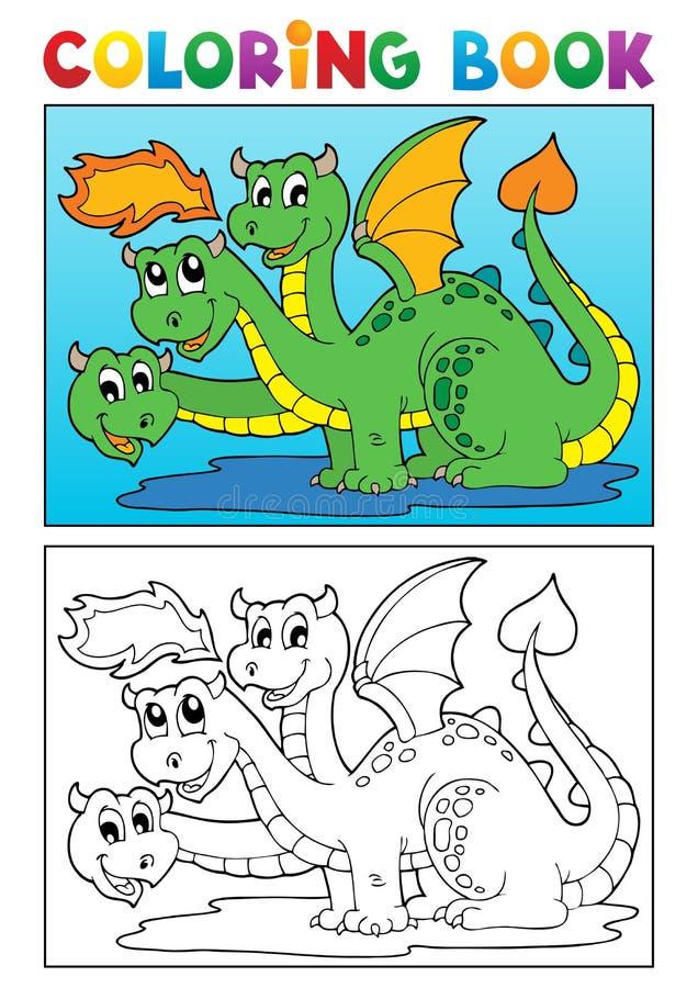 彩图龙主题图象4 皇族释放例证
