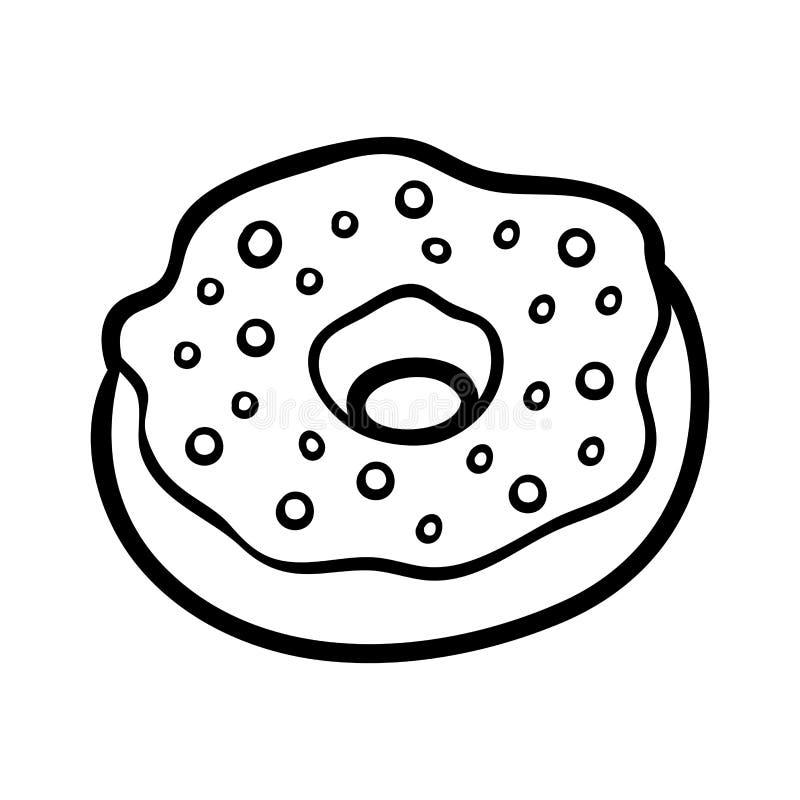 彩图,多福饼 皇族释放例证