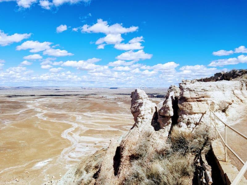 彩色沙漠 免版税库存照片