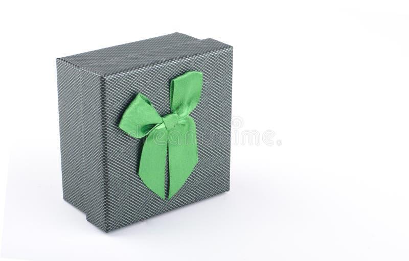 彩色礼盒白色背景 库存照片