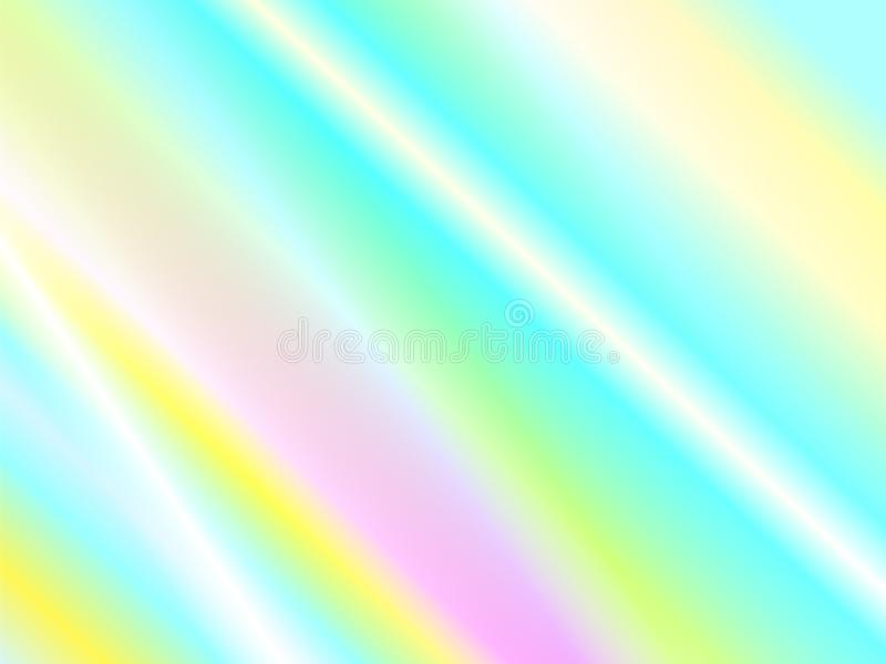 彩虹反射和光束纹理 皇族释放例证