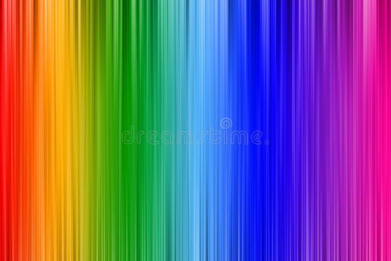 彩虹墙纸 皇族释放例证