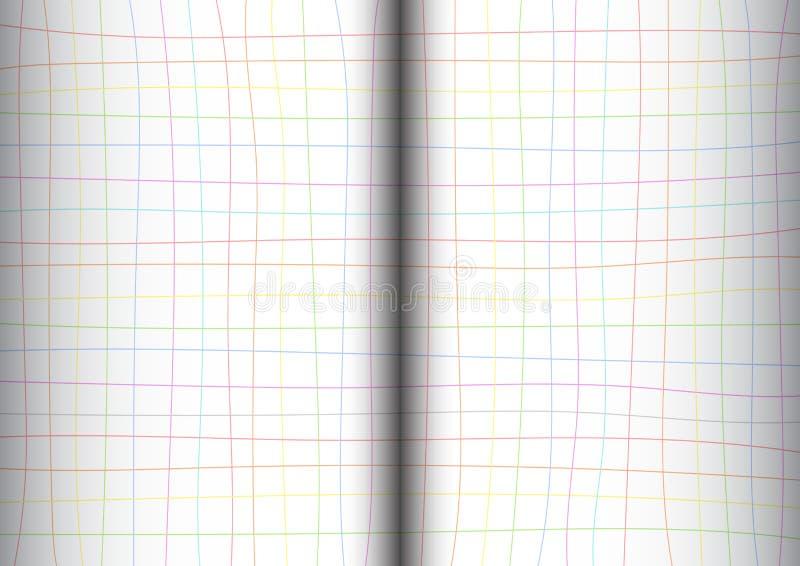 Download 彩虹栅格白色背景开放书 向量例证. 插画 包括有 图书馆, 粉红色, 网格, 信函, 商业, 蓝色, 开放 - 62529607
