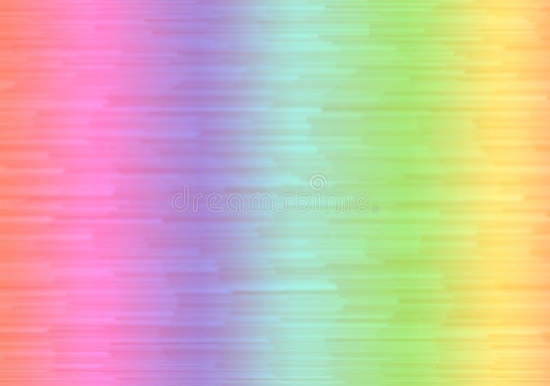 彩虹梯度背景 免版税库存照片