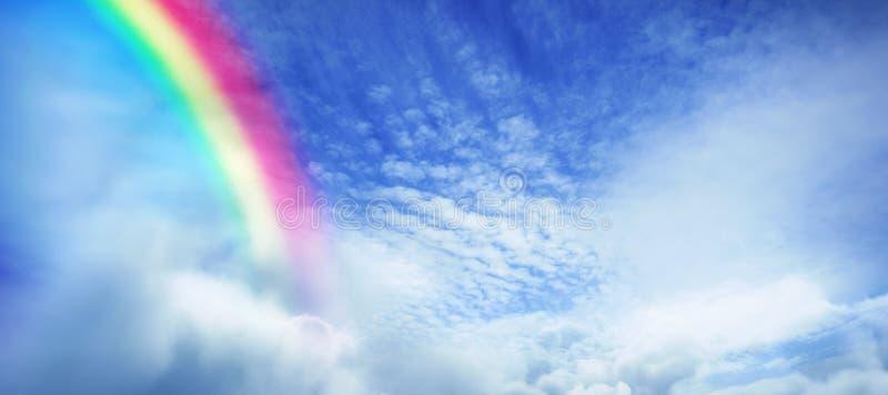彩虹的数字式综合图象的综合图象 免版税图库摄影