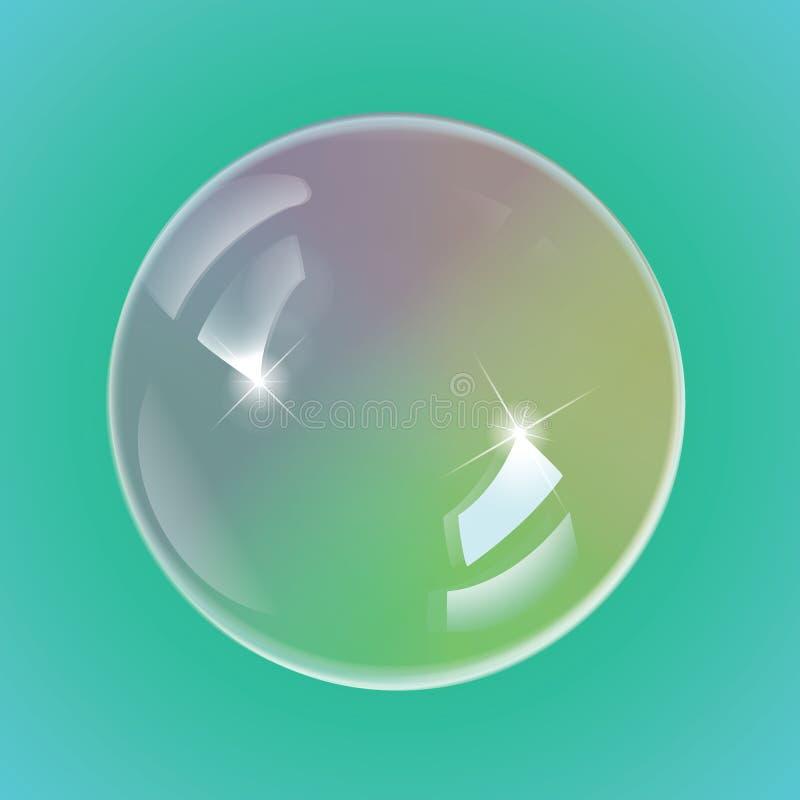 彩虹肥皂泡, eps10传染媒介 皇族释放例证