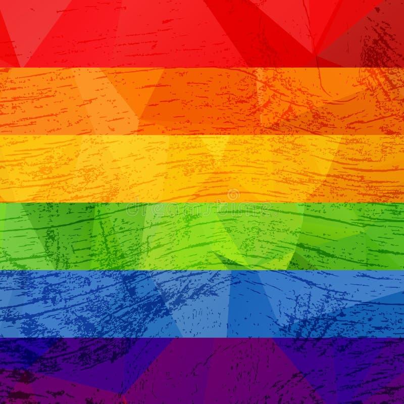 同性彩虹壁纸_镶边彩虹同性恋自豪日旗子 lgbt社区标志 脏的设计样式
