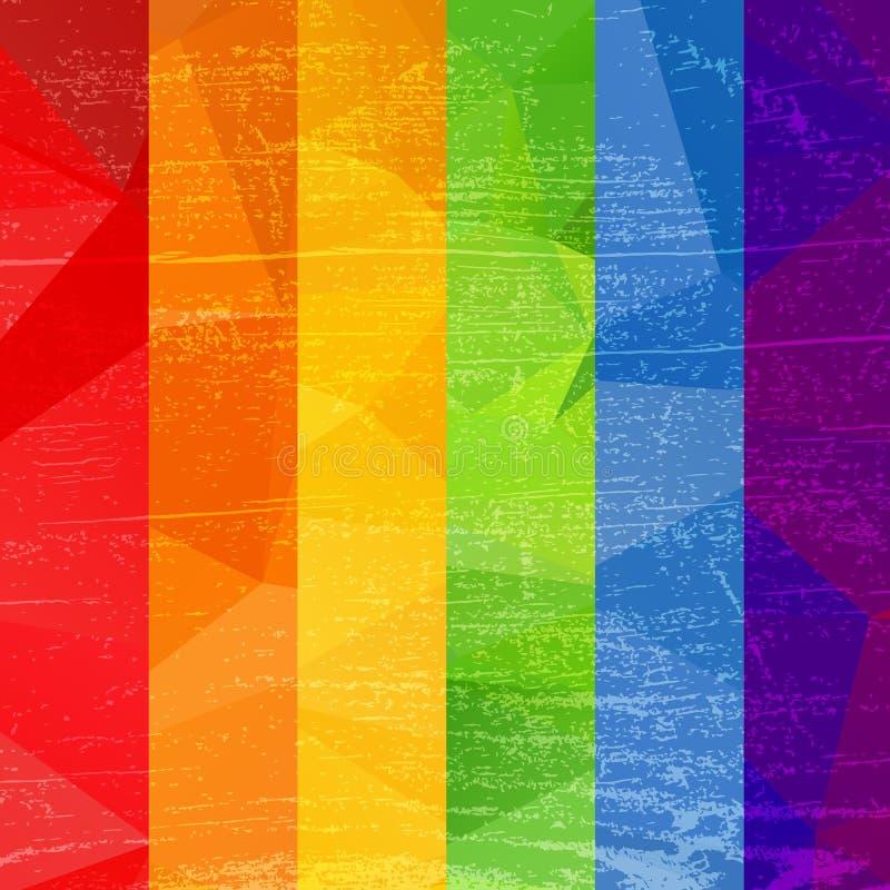 同性彩虹壁纸_镶边彩虹同性恋自豪日旗子 lgbt社区标志 脏的设计样式 id.