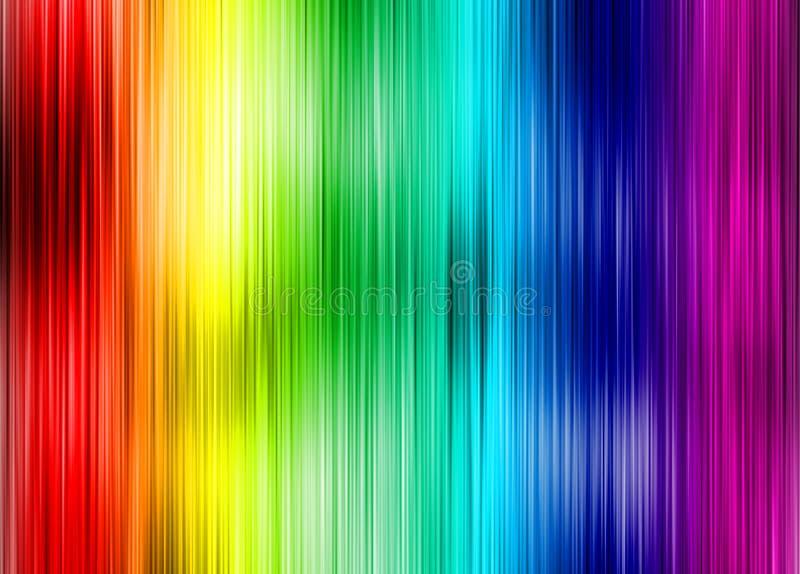 彩虹背景 皇族释放例证