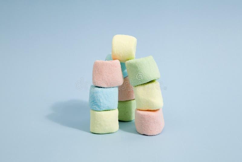 彩虹蛋白软糖 库存照片