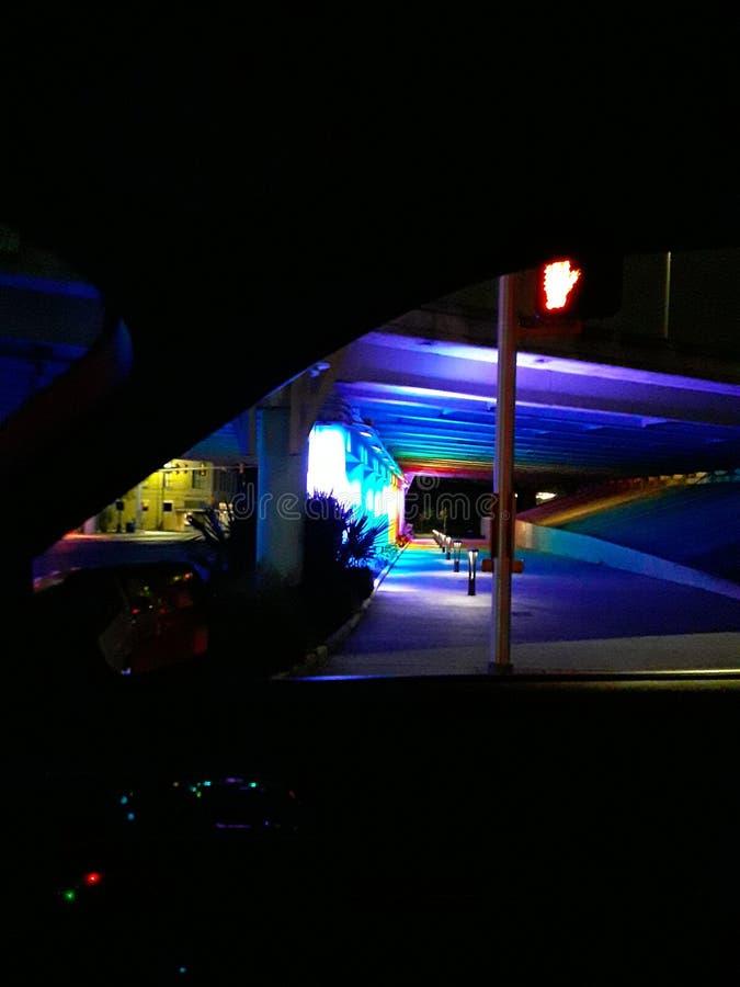 彩虹高速公路3 图库摄影