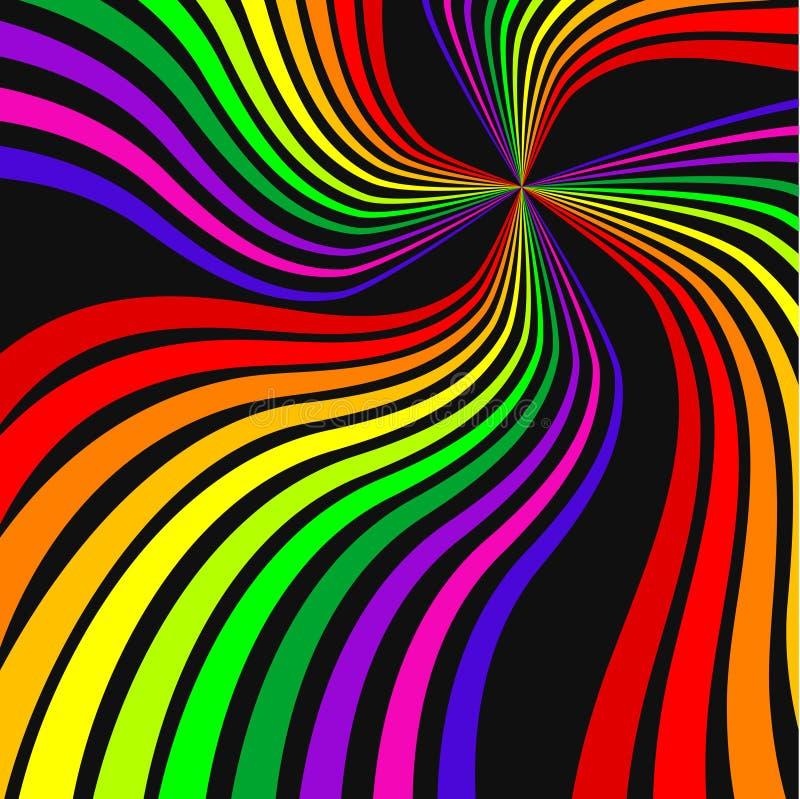 彩虹 向量例证