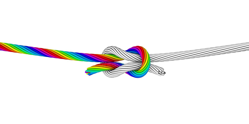 Download 彩虹Knot_B 库存图片. 插画 包括有 承诺, 转弯, 分集, 权利, 绳索, 直接, 投反对票, 容差 - 30325211