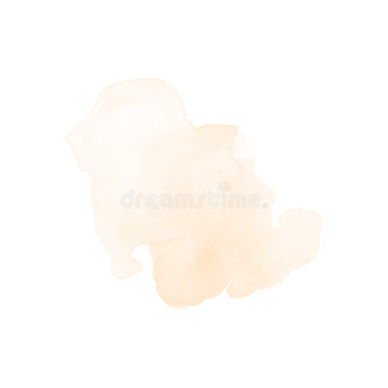 水彩飞溅设计元素 图库摄影