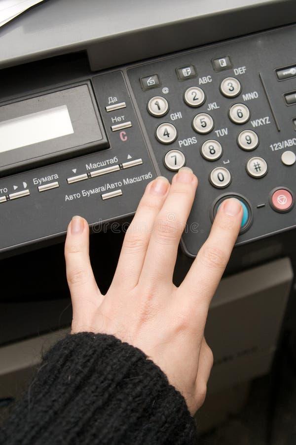 影印机传真激光 库存图片