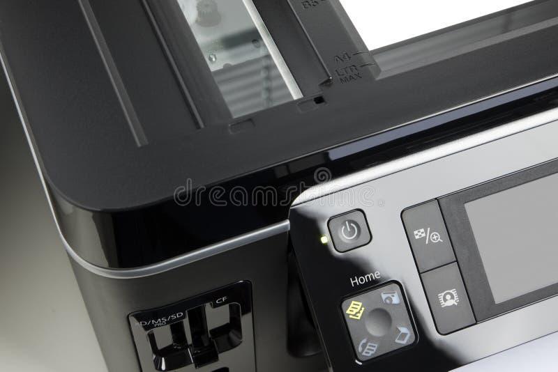影印机详细资料 库存图片