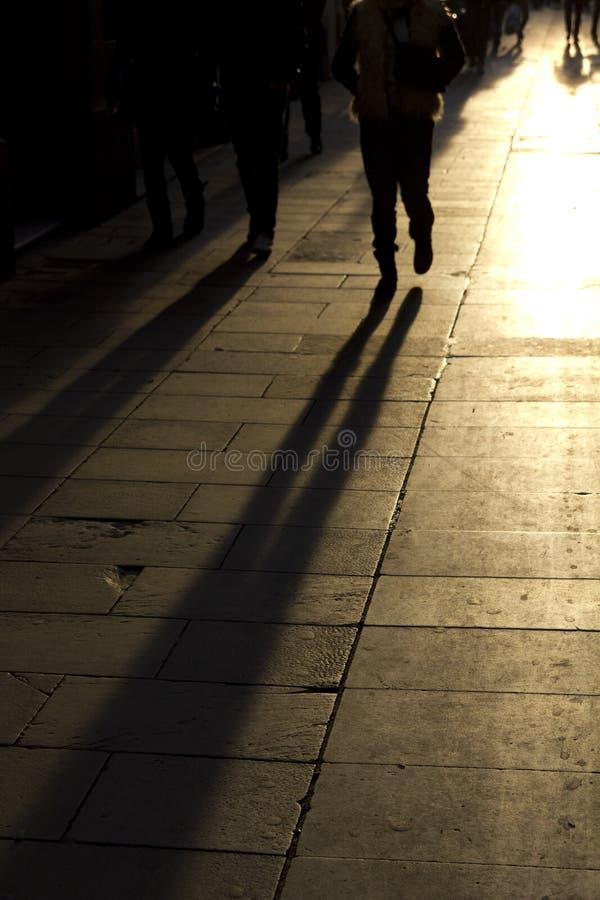 影子 图库摄影