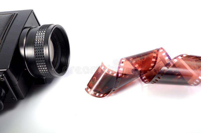 影片生产 免版税库存照片