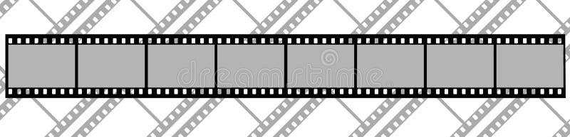 影片背景  向量例证