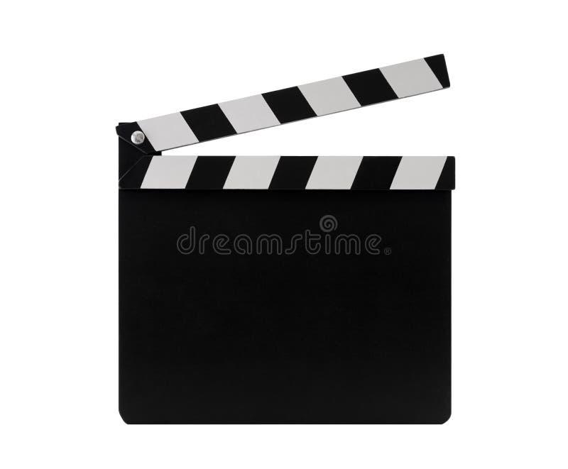 影片clapperboard 免版税图库摄影