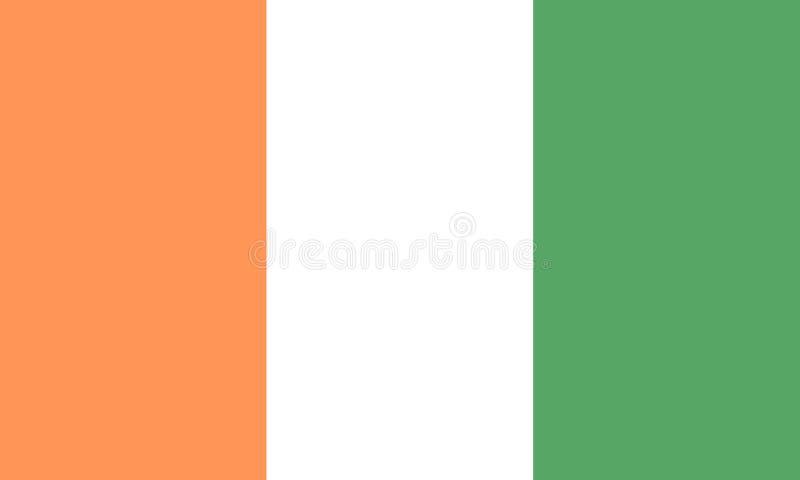 彻特d Ivoire 皇族释放例证
