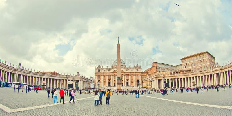 彼得圣徒梵蒂冈 库存图片