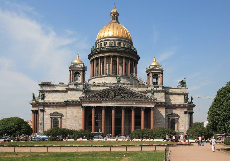 彼得斯堡俄国st 免版税库存照片
