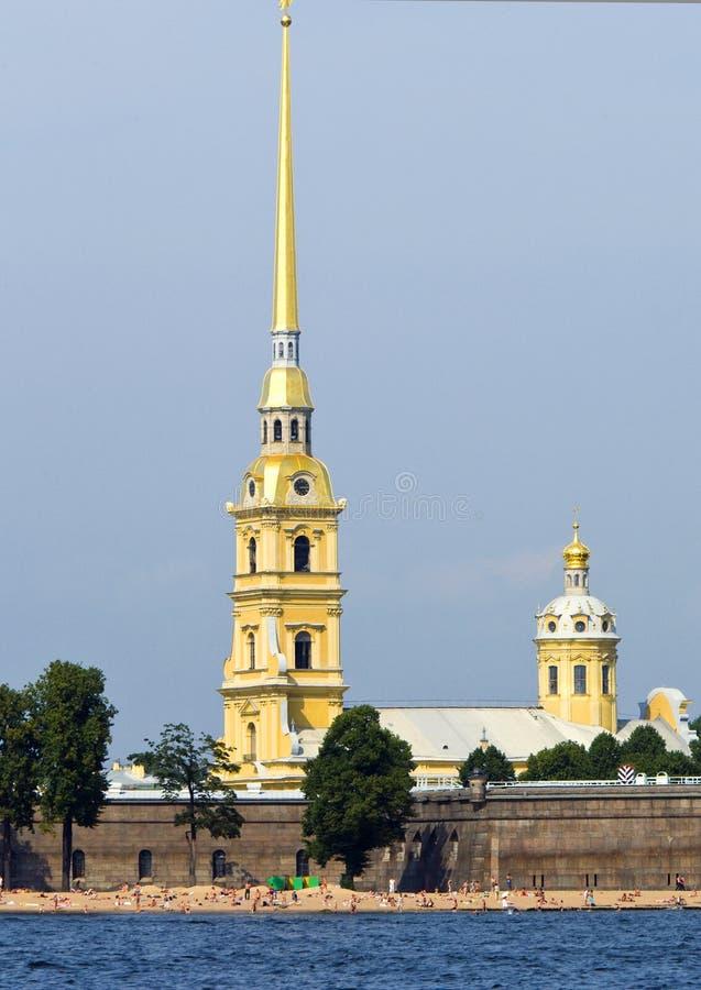 彼得斯堡俄国st 免版税图库摄影
