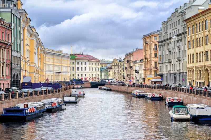彼得斯堡俄国st 图库摄影
