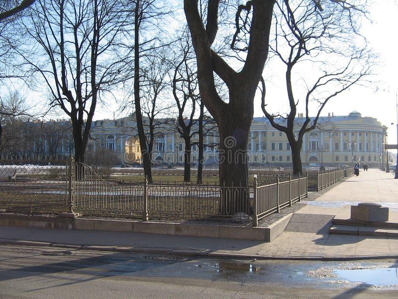 彼得斯堡st街道 免版税库存照片
