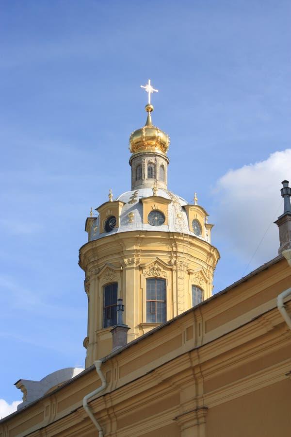 彼得斯堡st视图 免版税库存照片