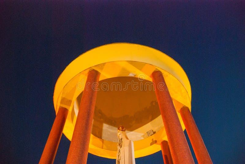 彼得罗波利斯,巴西:法蒂玛维尔京王位Sanctuary Trono de法蒂玛,彼得罗波利斯,里约热内卢,巴西 免版税库存照片