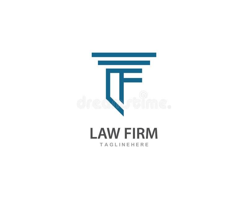律师事务所商标传染媒介 皇族释放例证