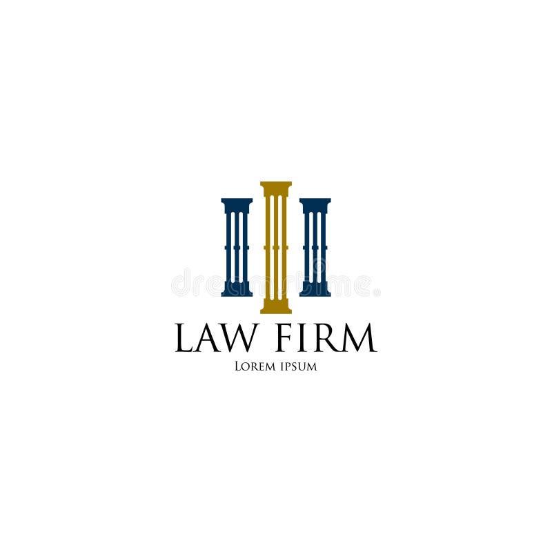 律师事务所商标艺术 库存例证