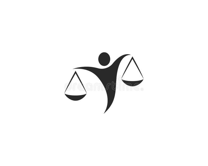 律师商标传染媒介 向量例证