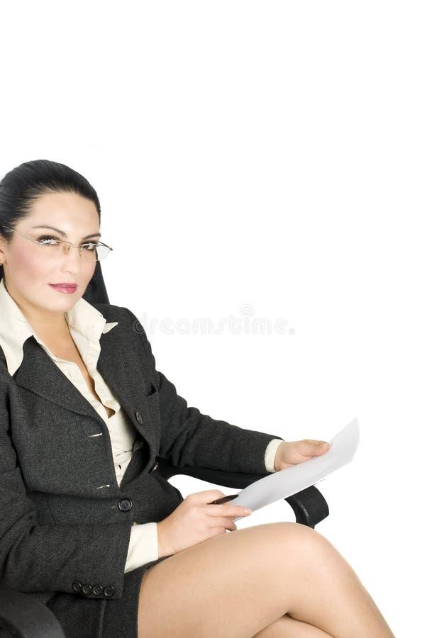 律师妇女 库存照片