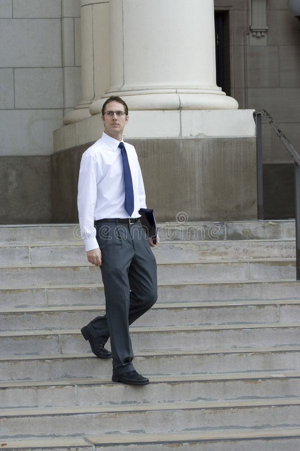 律师年轻人 库存照片