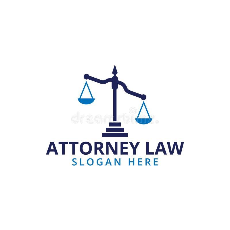 律师法律标度商标象模板 皇族释放例证