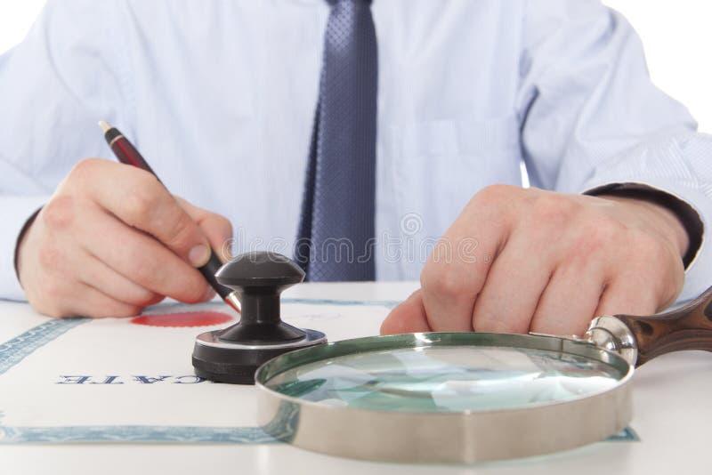 律师,公证员 图库摄影