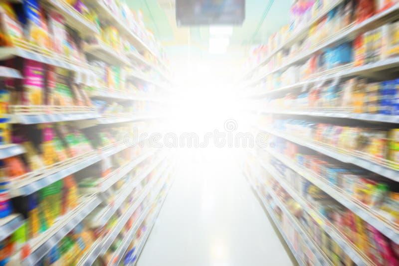 徒升迷离超级市场 免版税库存图片