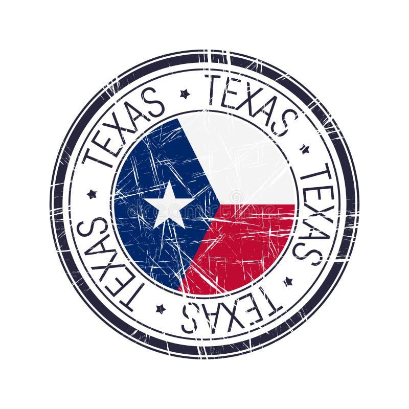 得克萨斯不加考虑表赞同的人 向量例证
