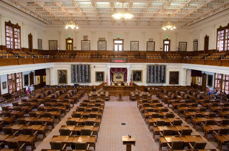 得克萨斯众议院房间 免版税图库摄影