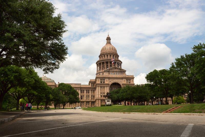 得克萨斯奥斯汀国会大厦  库存照片