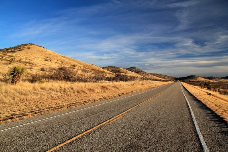 得克萨斯州际高速公路118 库存图片