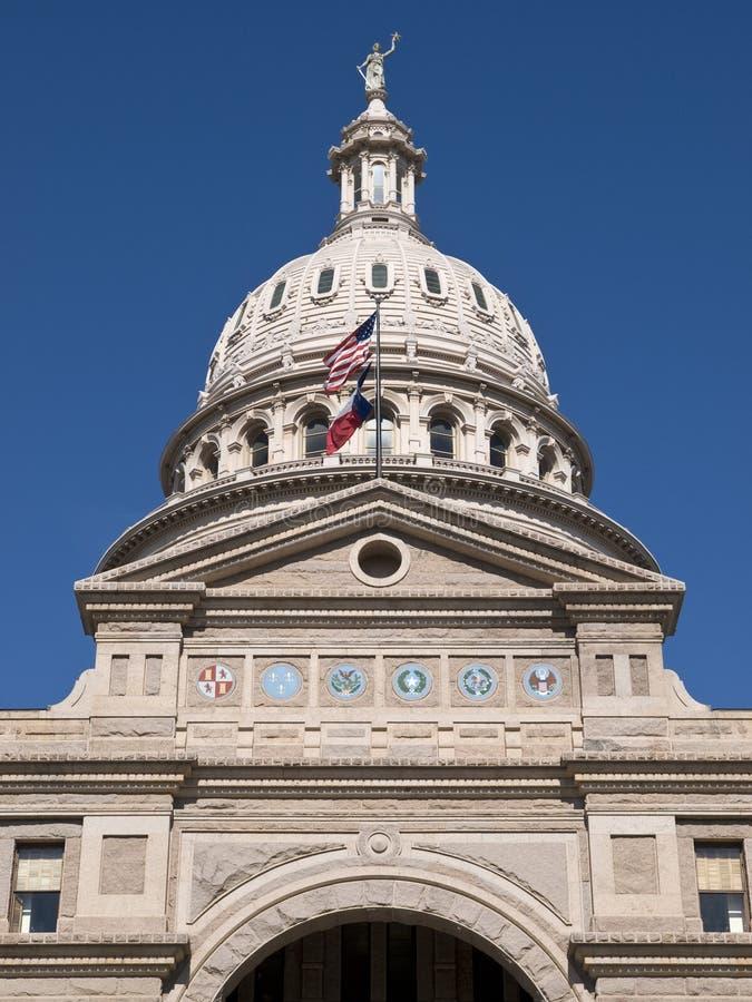 得克萨斯状态国会大厦大厦 库存图片